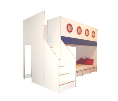 Big Bunk Bed by De Breuyn