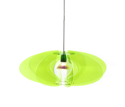 Blossom Pendant 65 Green neon 018 by Bsweden