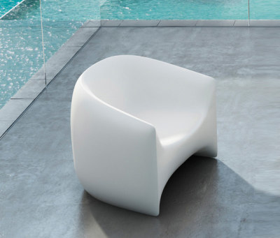 Blow Lounge Chair - 80 x 79 x 76 cm Ice