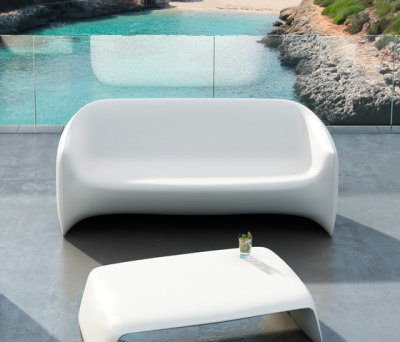 Blow sofa White