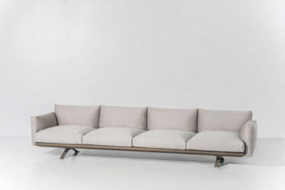 Boma 4-seater sofa by KETTAL