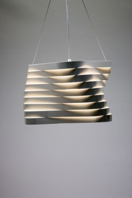 Boomerang hanging lamp by almerich