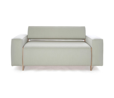 Box Wood Sofa by Inno