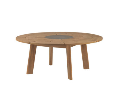 BRICK round table by Roda