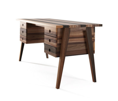 Brooklyn DESK TABLE 6 DRAWERS by Karpenter
