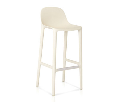 Broom Barstool White