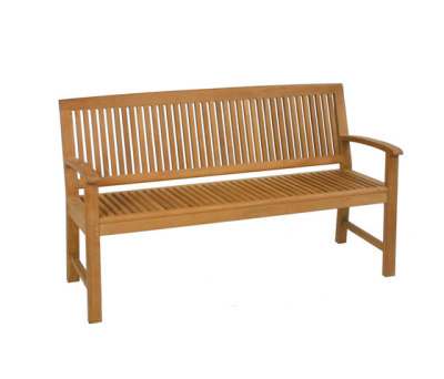 Burma bench by Fischer Möbel