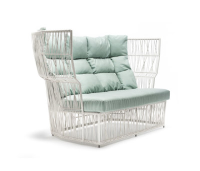 Calyx Loveseat by Kenneth Cobonpue