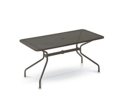 Cambi rectangular table; 160x80cm top Black