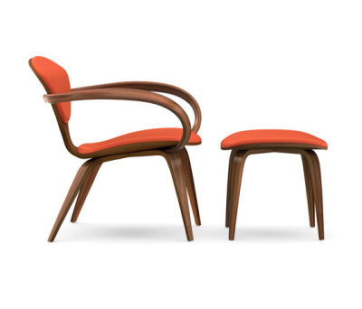 Cherner Lounge Chair and Ottoman by Cherner