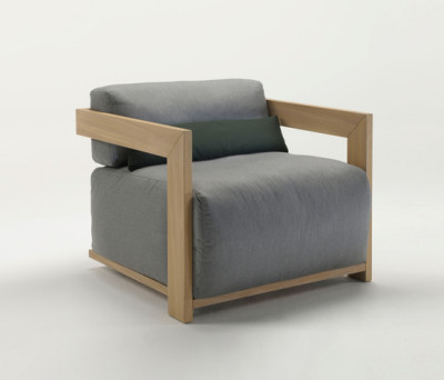 Claud Armchair by Meridiani