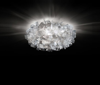 Clizia Fumé ceiling by Slamp