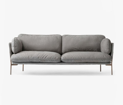 Cloud Three Seater LN3 nubuck by &TRADITION
