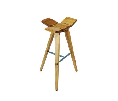 Clover Bar Stool High by Hookl und Stool
