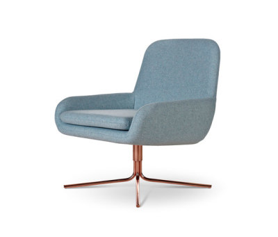 Coco Swivel Copper by Softline A/S