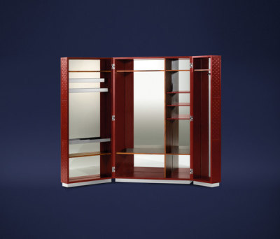 Condotti Trunk wardrobe by Flou