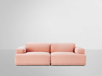 Connect Sofa | 2-seater Steelcut Trio 515