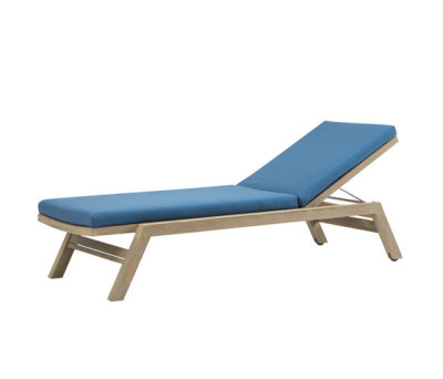Costes sun lounger matress by Ethimo