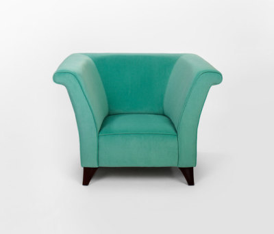Cotton Club armchair by Lambert