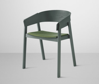 Cover Chair | upholstered Remix 933 / Green