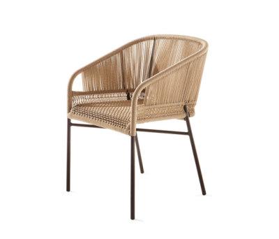 Cricket outdoor designer armchair by Varaschin
