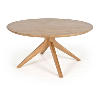 Cross round dining table by Case Furniture