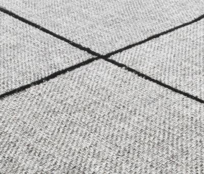 Crossline silver gray by Miinu