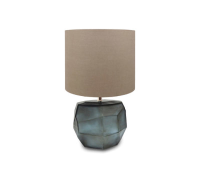 Cubistic Round tablelamp by Guaxs