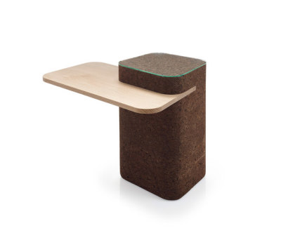 Cut Side Table by Blackcork