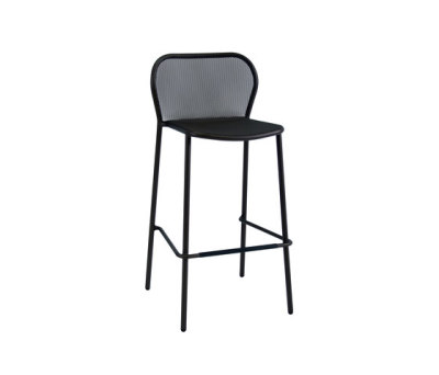 Darwin barstool - set of 4 Black