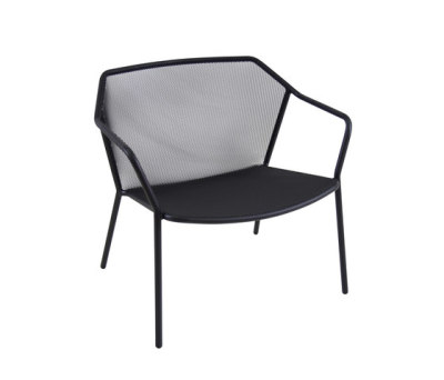 Darwin lounge chair - set of 2 Black