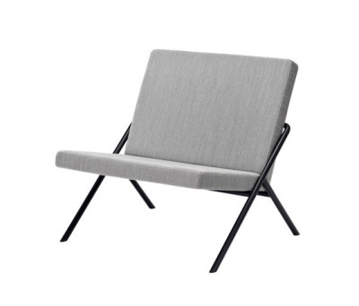 DL2 Euclides Easy chair by LOEHR