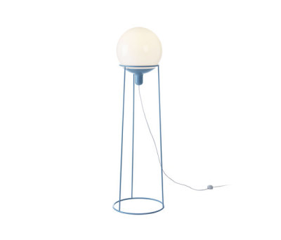 Dolly 36 floor lamp blue by Bsweden