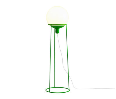 Dolly 36 floor lamp green by Bsweden