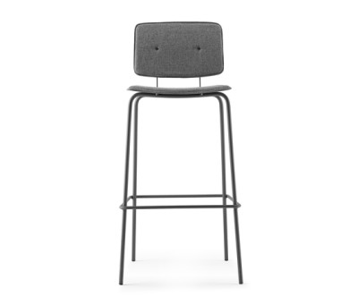 Don Stool upholstered by ONDARRETA