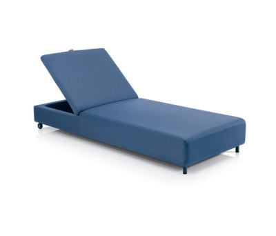 DOUBLE sunlounger by Roda