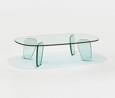 Drawn Table by Glas Italia