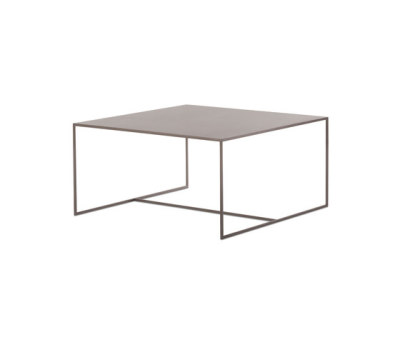 Duchamp Bronze Coffee table by Minotti