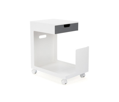 Ed Mobile Pedestal by L&Z