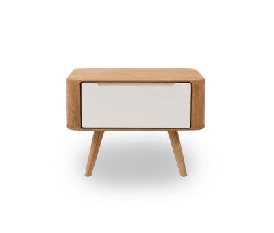 Ena nightstand two by Gazzda