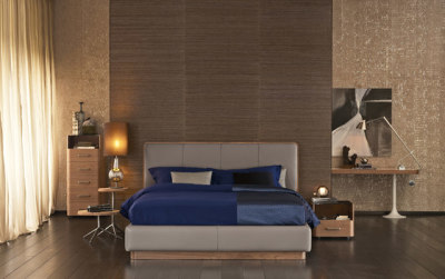 Ermes Bed by Flou