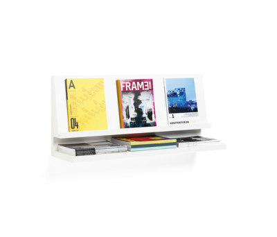 Expo magazine holder by Materia