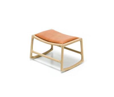 Fawn - dedo footstool dakar by Gazzda