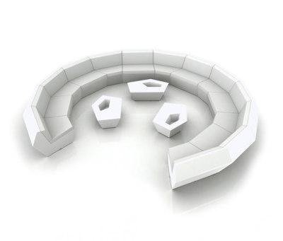 Faz modul sofa White