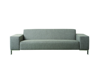 Finch Metal Sofa by Palau