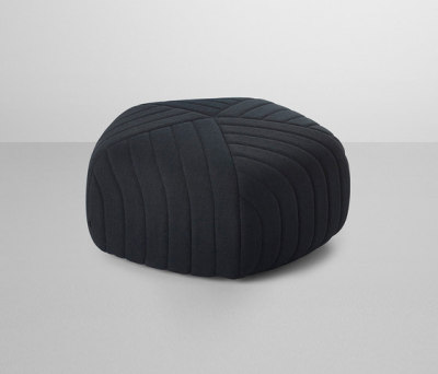 Five Pouf Dark Grey - Remix 183