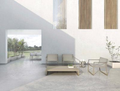 Flat Textile armchair by GANDIABLASCO