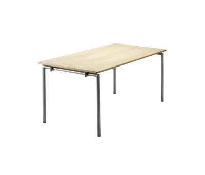 Flex Folding table round legs by Randers+Radius