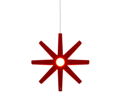 Fling 33 pendant small red by Bsweden
