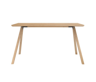 Flow Dining Table - 140x80x75cm Black